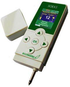 Soecks medidor de nitratos en alimentos y radiactividad en el ambiente
