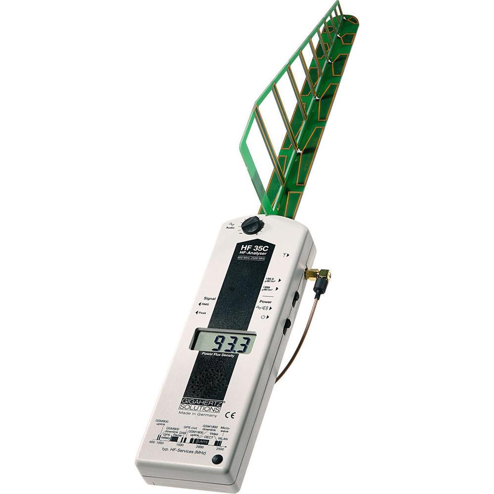 Gigahertz, Medidor radiofrecuencia HF35C