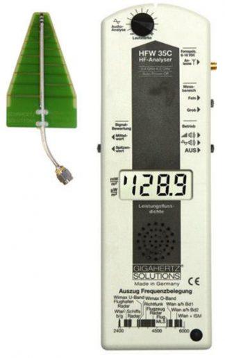 MEDIDOR DE RADIOFRECUENCIA HFW35C de GIGAHERTZ