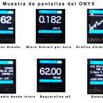 Pantallas de mediciones del ONIX