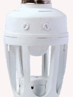 Portalamparas E27 con sensor infrarojos