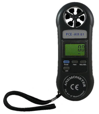 Anemómetro PCE-AM81