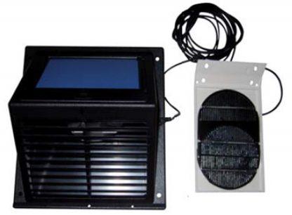 Aireador-Extractor solar con batería