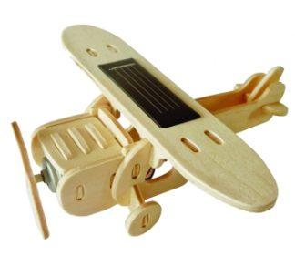 Kit solar madera