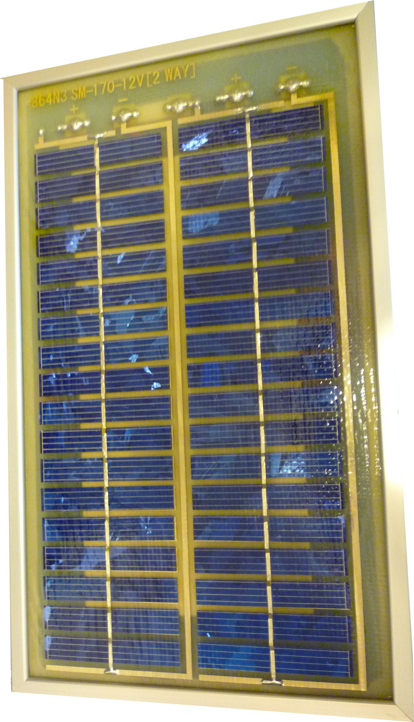 Panel solar foovoltaico 3 w