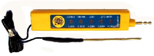 Medidor de cercas electricas