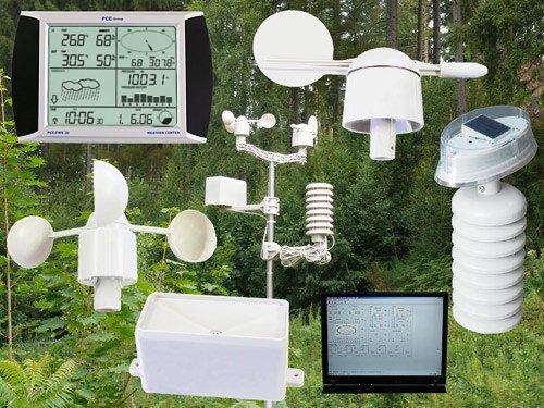 Estación meteorológica tactil