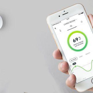 Medidor gas Radon para app Tel.movil