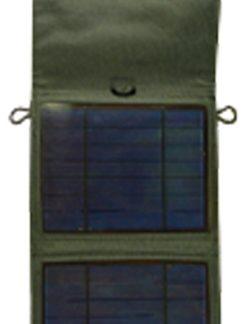 Cargador solar USB 5 V y 12 V