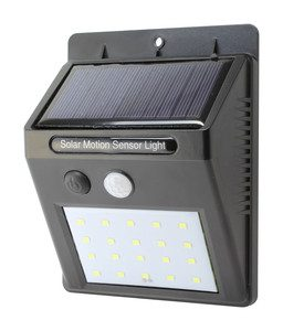 Aplique solar de pared Led 2 W