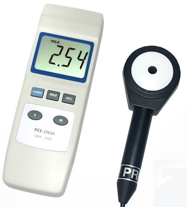 Medidor de radiación UV PCE-UV34