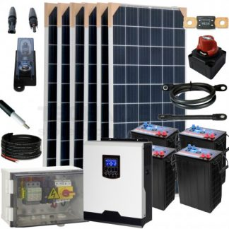 KIT SOLAR AISLADA 3 kW