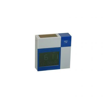 Reloj despertador solar con temperatura