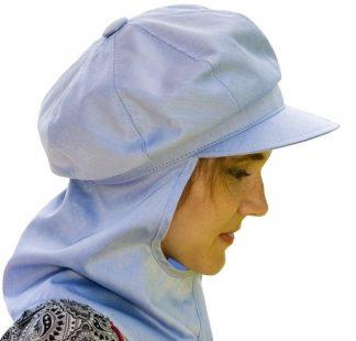 Gorra antiradiación algodón con visera