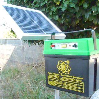Pastor eléctrico con placa solar 2,2 Jul-45 km