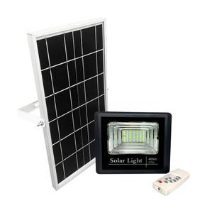 Foco led 25 W con panel solar