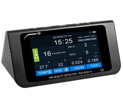 Medidor de calidad del aire de sobremesa RCM 15