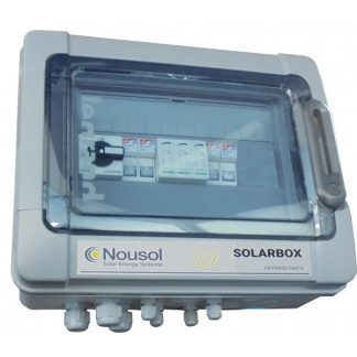 Solarbox, caja de protección con seccionador 1000 Vcc 25 A