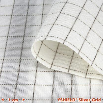 Tela derivación a tierra Silver Grid