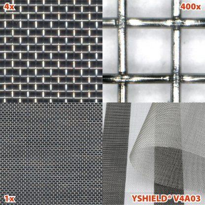 Malla protectora HF V4A03 detalle