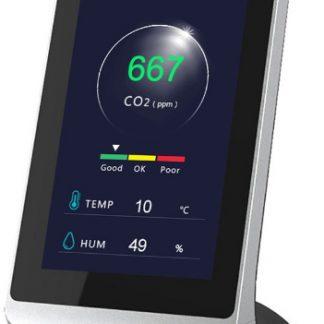 Medidor CO₂ con semáforo