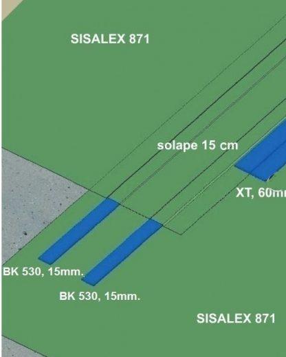 XT60 Cinta junta anti radón