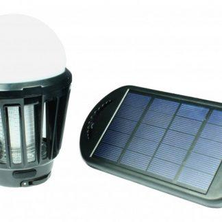 Bombilla antimosquitos solar